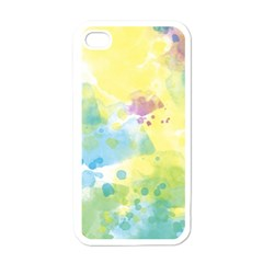 Abstract Pattern Color Art Texture Apple Iphone 4 Case (white)
