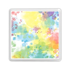 Abstract Pattern Color Art Texture Memory Card Reader (square)