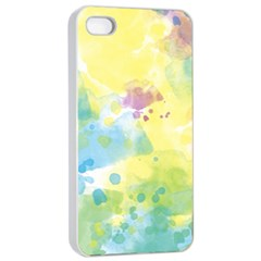 Abstract Pattern Color Art Texture Apple Iphone 4/4s Seamless Case (white)