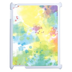 Abstract Pattern Color Art Texture Apple Ipad 2 Case (white)