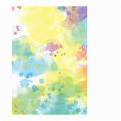 Abstract Pattern Color Art Texture Small Garden Flag (two Sides)