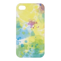 Abstract Pattern Color Art Texture Apple Iphone 4/4s Premium Hardshell Case