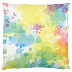 Abstract Pattern Color Art Texture Large Cushion Case (two Sides)