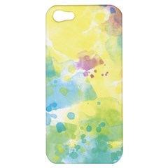Abstract Pattern Color Art Texture Apple Iphone 5 Hardshell Case