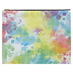 Abstract Pattern Color Art Texture Cosmetic Bag (xxxl)