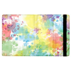 Abstract Pattern Color Art Texture Apple Ipad 3/4 Flip Case