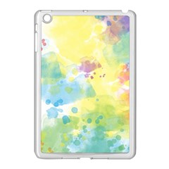 Abstract Pattern Color Art Texture Apple Ipad Mini Case (white)
