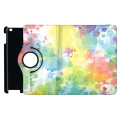 Abstract Pattern Color Art Texture Apple Ipad 3/4 Flip 360 Case