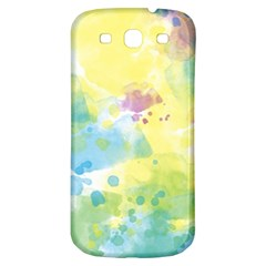 Abstract Pattern Color Art Texture Samsung Galaxy S3 S Iii Classic Hardshell Back Case