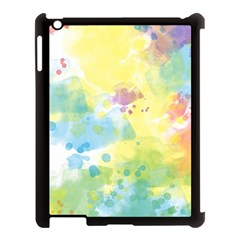 Abstract Pattern Color Art Texture Apple Ipad 3/4 Case (black)