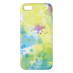 Abstract Pattern Color Art Texture Apple Iphone 5 Premium Hardshell Case