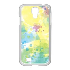 Abstract Pattern Color Art Texture Samsung Galaxy S4 I9500/ I9505 Case (white)