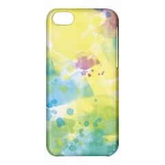 Abstract Pattern Color Art Texture Apple Iphone 5c Hardshell Case