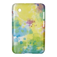 Abstract Pattern Color Art Texture Samsung Galaxy Tab 2 (7 ) P3100 Hardshell Case