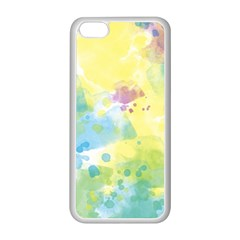 Abstract Pattern Color Art Texture Apple Iphone 5c Seamless Case (white)