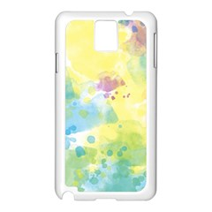 Abstract Pattern Color Art Texture Samsung Galaxy Note 3 N9005 Case (white)