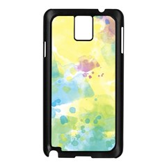 Abstract Pattern Color Art Texture Samsung Galaxy Note 3 N9005 Case (black)