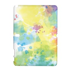 Abstract Pattern Color Art Texture Samsung Galaxy Note 10 1 (p600) Hardshell Case