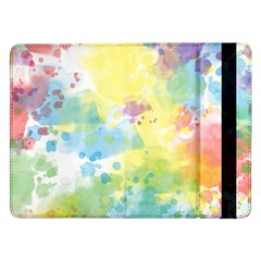 Abstract Pattern Color Art Texture Samsung Galaxy Tab Pro 12 2  Flip Case