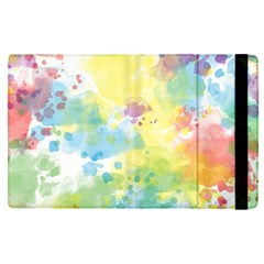 Abstract Pattern Color Art Texture Apple Ipad Pro 9 7   Flip Case by Nexatart