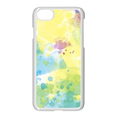 Abstract Pattern Color Art Texture Apple Iphone 8 Seamless Case (white) by Nexatart