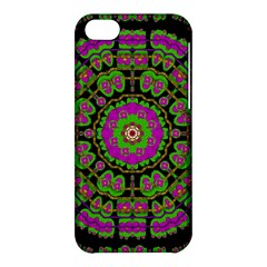 Flowers And More Floral Dancing A Happy Dance Apple Iphone 5c Hardshell Case by pepitasart