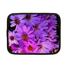 Pink Garden Flowers Netbook Case (small) by bloomingvinedesign