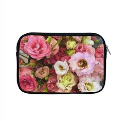 Pink Lisianthus Flowers Apple Macbook Pro 15  Zipper Case by bloomingvinedesign