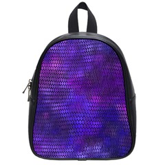 Purple Dragon Scales School Bag (small) by bloomingvinedesign