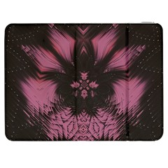Glitch Glitch Art Grunge Distortion Samsung Galaxy Tab 7  P1000 Flip Case by Nexatart
