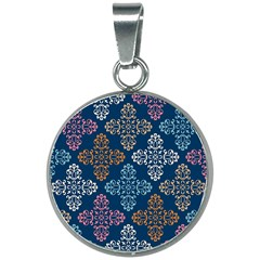 Background Wallpaper Abstract Art 20mm Round Necklace