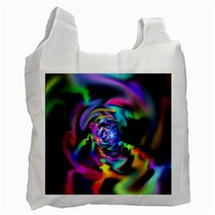 Soft Blend Color Wheel Recycle Bag (one Side) by bloomingvinedesign