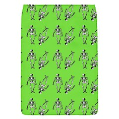 Skeleton Green Removable Flap Cover (s) by snowwhitegirl
