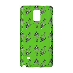 Skeleton Green Samsung Galaxy Note 4 Hardshell Case
