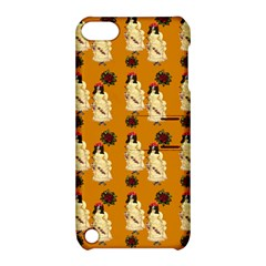 Victorian Skeleton Orange Apple Ipod Touch 5 Hardshell Case With Stand by snowwhitegirl