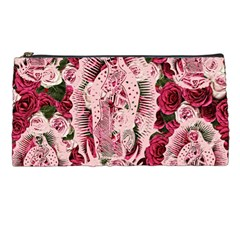 Guadalupe Roses Pencil Cases by snowwhitegirl