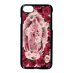 Guadalupe Roses Apple Iphone 8 Seamless Case (black) by snowwhitegirl