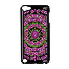 Flowers And More Floral Dancing A Power Peace Dance Apple Ipod Touch 5 Case (black) by pepitasart