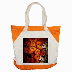 Pile Of Tiny Pumpkins Accent Tote Bag by bloomingvinedesign