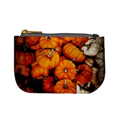 Pile Of Tiny Pumpkins Mini Coin Purse by bloomingvinedesign
