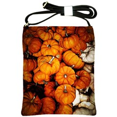 Pile Of Tiny Pumpkins Shoulder Sling Bag by bloomingvinedesign