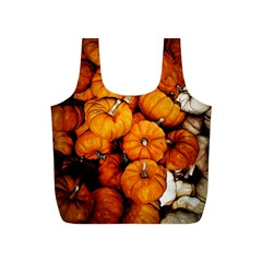 Pile Of Tiny Pumpkins Full Print Recycle Bag (s) by bloomingvinedesign