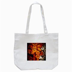 Pile Of Tiny Pumpkins Tote Bag (white) by bloomingvinedesign