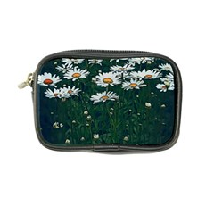 White Daisy Field Coin Purse by bloomingvinedesign