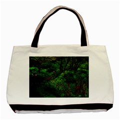 Wilderness Crossing Basic Tote Bag by bloomingvinedesign