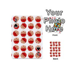 Kawaii Jam Jar Pattern Playing Cards 54 (mini) by snowwhitegirl