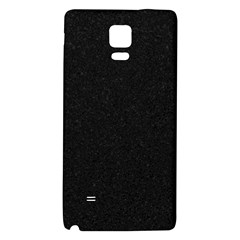 Black Glitter Samsung Note 4 Hardshell Back Case