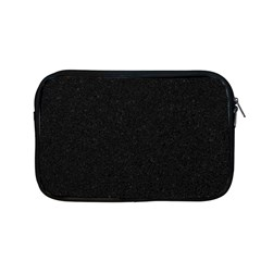 Black Glitter Apple Macbook Pro 13  Zipper Case
