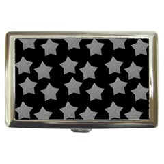 Silver Starr Black Cigarette Money Case