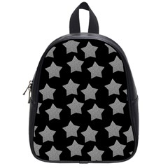 Silver Starr Black School Bag (small)